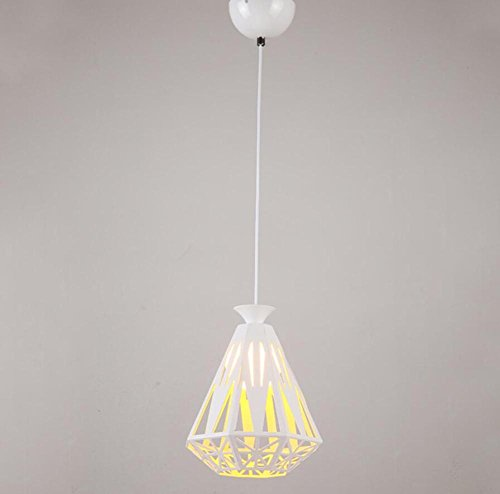 GL&G Modern simple restaurant chandeliers Pendent Light for Cafe Iron Chandelier Home Decora ...