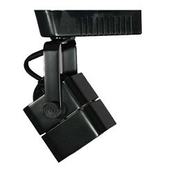 Direct-Lighting 50012 Black MR16 Cube Low Voltage Track Lighting Head