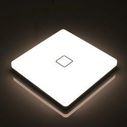 Airand LED Ceiling Light Flush Mount 24W Waterproof IP44 for Bathroom, Kitchen, Bedroom, Hallway ...