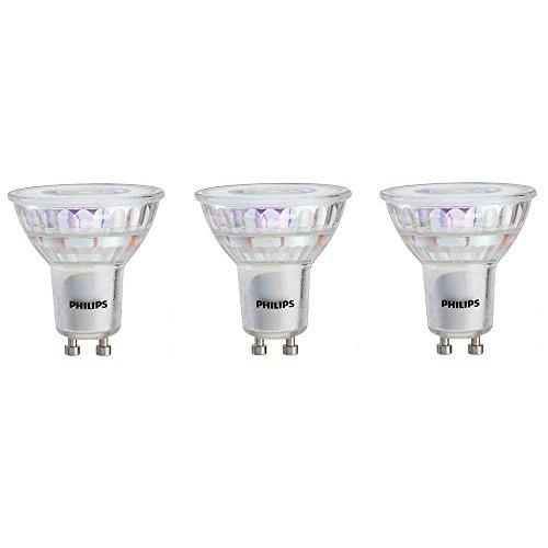 Philips 465054 Led Gu10 Dimmable 35 Degree Spot Light Bulb 400 Lumen 3000 Kelvin 6 Watt 50