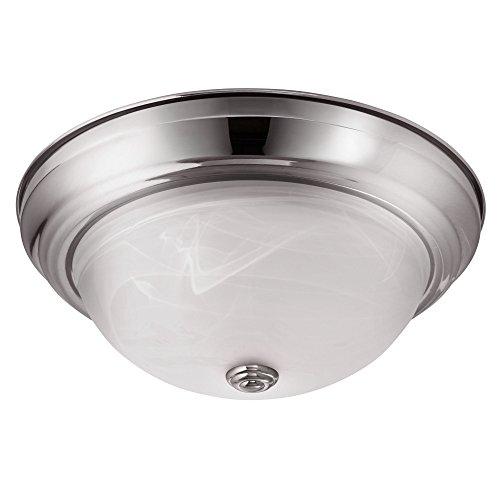 New 7 Round Led Flush Mount Ceiling Light 4000k Kitchen: LB72127 LED Flush Mount Dome Ceiling Fixture, Antique