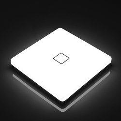 Airand LED Ceiling Light Flush Mount 5000K 12.6inch 24W Waterproof IP44 for Bathroom, Kitchen, B ...