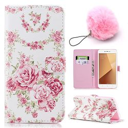 Peony Flower Pattern For Honor 7X Case [Shock-Absorption],Vandot 3D Colorful Relief Design Light ...