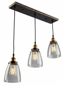 Artcraft Lighting Greenwich 3-Light Pendant, 22.5-Inch