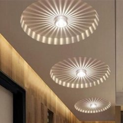 JT Tech LED 3W White/Warm White Aluminum Ceiling Light Corridor Balcony Pendant Lamp Chandelier  ...