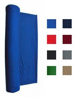 Performance Grade Pool Table Felt – Billiard Cloth – For A 7 Foot Table Blue