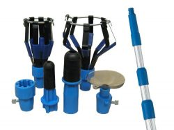 Ettore 48450 Bulb Changer Kit with Pole