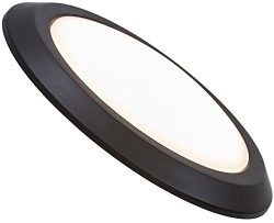 NEW Round Flush Mount Thin Ceiling Light | LED Disc Shaped Thinnest Round Dimmable Lighting Fix ...