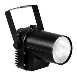 White LED Beam Pinspot Light DJ Mirror Ball Lighting For KTV Bar Club Party Disco