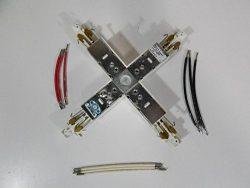 Lightolier 6152WH X Connector Matte White for Track Lighting T74615