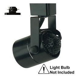 D&D Brand H System GU10 Line Voltage Track Lighting Fixture Black HA-4519-BK ( No Bulb )