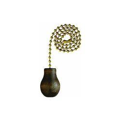Westinghouse Lighting Corp 77013 Wal Knob Pull Chain, 0.8″ x 3.5″ x 3.5″