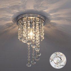 SOTTAE Bulb Rotary Pendant Fixture Lighting Bedroom Hallway Kids Room Living Room Elegant Ceilin ...