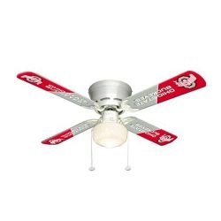 Ceiling Fan Designers Ohio State Buckeyes 42″ Ceiling Fan