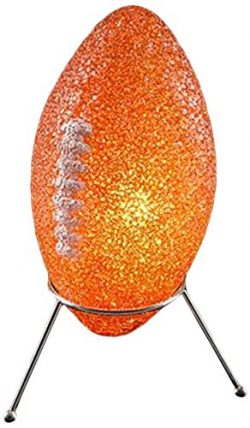 Rhode Island Novelty Elfoosp 9″ Sparkle Football Lamp