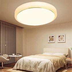 18W Round LED Ceiling Light Fixture Lighting Flush Mount Pendant Lamp Bedroom