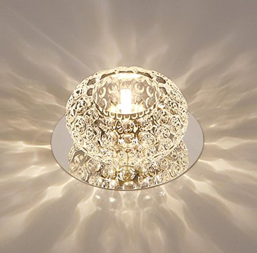 Corridor Mirror Ceiling Lamp Aisle Veranda Lighting Down Crystal Mordern Surface Mounted 5w LED  ...