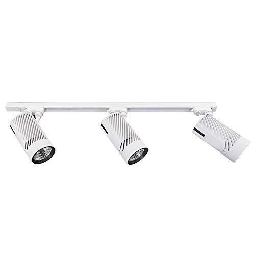 Easy Track Lighting Kit: Track Lighting Kit 3-LED Light More Bright With 4500