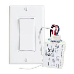 Simple Wireless Switch Kit: Move or add a light switch in any location! Use this Self-Powered Ro ...