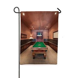iPrintsophierhome Garden Banner Outdoor Flag Flags,in Mansion Pool Table Billiard Lifestyle Phot ...