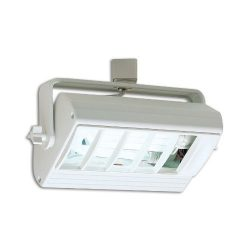 Nora Lighting NTF-2642T/B Compact Fluorescent Track Head by Nora Lighting