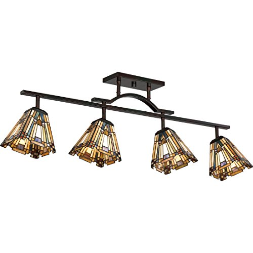 Quoizel TFIK1404VA 4-Light Inglenook Track Light in Valiant Bronze