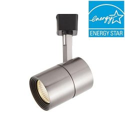 Hampton Bay 1000 001 125 Brushed Nickel Dimmable Led Track Cylinder