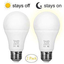 Sensor Lights Bulb Dusk to Dawn LED Light Bulbs Smart Lighting Lamp 7W E26/E27 Automatic On/Off, ...
