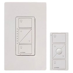 Lutron Caseta Wireless Smart Lighting Dimmer Switch and Remote Kit for Wall & Ceiling Lights ...