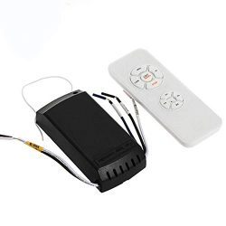 Universal Ceiling Fan Light Remote Controller Kit Timing Wireless Remote Control For Hunter Harb ...