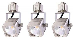 Cloudy Bay LED Track Light Head,CRI90+ Warm White Dimmable,Adjustable Tilt Angle Track Lighting  ...