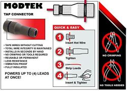 Modtek Low Voltage High Performance Piercing Connectors for Landscape Lights, Cable Connector fo ...