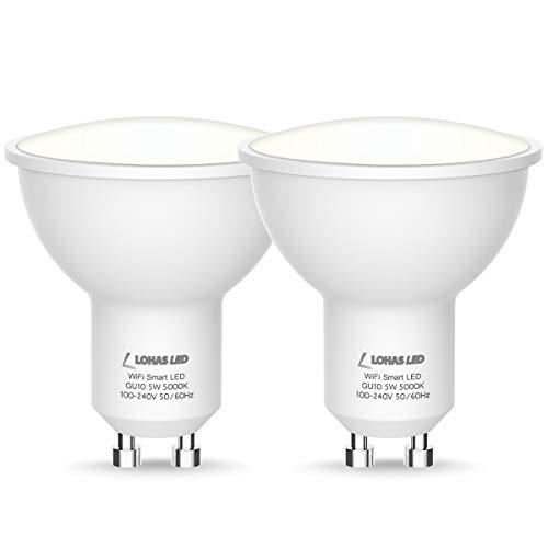 Lohas Smart Light Bulb Gu10 Led Dimmable Daylight White