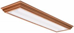Lithonia Lighting Oak 4-Ft LED Flush Mount, 4000K, 35.5W, 2,800 Lumens