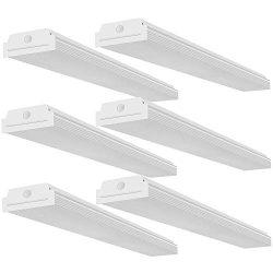 FaithSail 4FT LED Wraparound 40W Wrap Light, 4400lm, 4000K Neutral White, 4 Foot LED Shop Lights ...