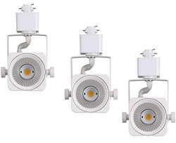 Cloudy Bay LED Track Light Head,CRI90+ Warm White 3000K Dimmable,Adjustable Tilt Angle Track Lig ...