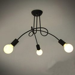 LightInTheBox Chandelier, 3 Light, Modern Characteristic Metal PaintingHome Ceiling Light Fixtur ...