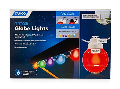 Camco 42760 Decorative Rv Awning Globe Lights 6