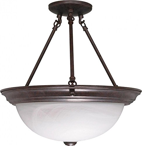 Nuvo Lighting 60/210 Three Light Semi Flush Mount
