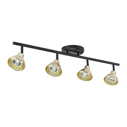 Globe Electric 59307 Track Lighting, Black