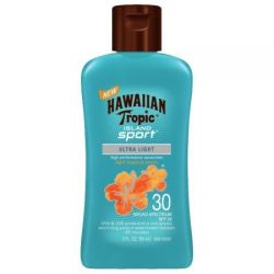 Hawaiian Tropic Island Sport Lotion Sunscreen Broad Spectrum SPF 30 – 2 oz ( Pack of 2)