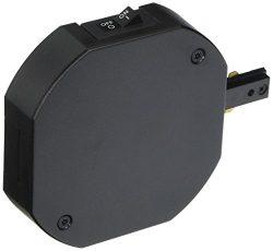WAC Lighting THL-HLE-1A-BK Single Live End H Track Current Limiter