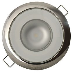 Lumitec 113119 Mirage LED Exterior or Interior Down Light, Flush Mount, Stainless Steel Polished ...