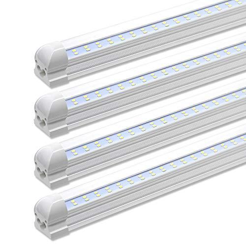 Led Shop Light Fixture 8 Foot 72w 7200lm 6000k Cool