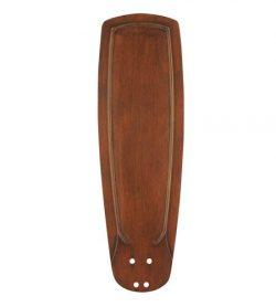 Emerson Ceiling Fans B90DO 25-Inch Classic Hand Carved Ceiling Fan Blades, Dark Oak, Indoor, Set ...