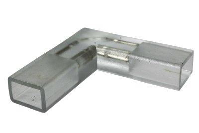 CBConcept L Shape Connector For 120V SMD3528 LED Strip Light, Create Sharp 90° Turns, Pack of 3  ...