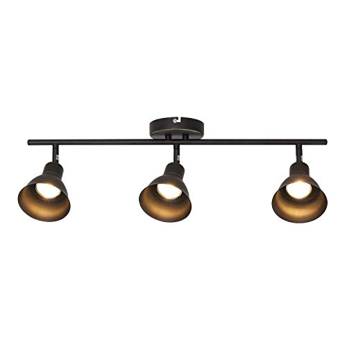 Melucee Ceiling Track Lighting With 3 Light Adjustable