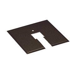 WAC Lighting CP-DB Canopy Plate for Junction Box, Dark Bronze