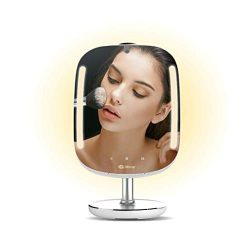 HiMirror Mini 16G: Smart beauty mirror with LED makeup lights, makeup vanity Mirror with touch s ...