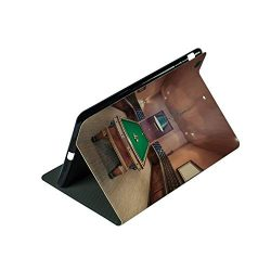 Compatible with 3D Printed iPad 9.7 Case,in Mansion Pool Table Billiard Lifestyle Photo,Lightwei ...